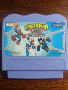 Vtech V.Smile Marvel Spiderman & Friends SECRET MISSION Game Cartridge