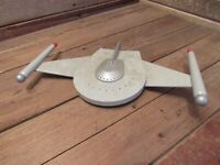 Vintage RARE SPACESHIP PLASTIC MODEL KIT AMT Star Trek Romulan Bird Of Prey