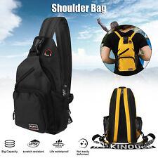 Outdoor Waterproof Chest Pack Travel Shoulder Sling Backpack Crossbody Bag Women