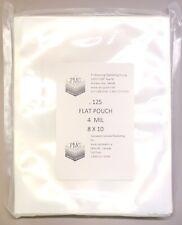 4 Mil 8x10 125ct Flat Commercial Bag Vacuum Sealer Vacmaster Food Saver