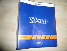 FIAT, Handbuch für den Technischen Kundendienst, Talento