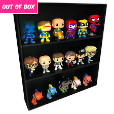 Out Of Box Display Cases for Funko Pops, Black Cardboard