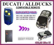 Ducati Allducks Te2, Rondy Tpr10-A, Tpr20-A compatible remote control / clone