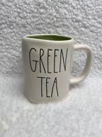 New Rae Dunn GREEN TEA Mug With Green Interior