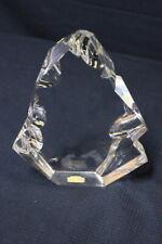 Skulptur / Crystal / Klar/ Baccarat/ Frankreich/Unterzeichnet/Dekoration