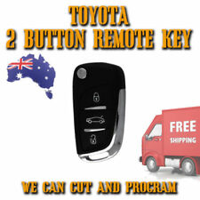 Toyota Remote Flip Key Complete Suits from 1997 to Current - Free Postage - New