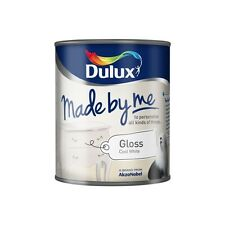 Dulux Decorating Amp Made by Me Gloss Paint Cool White 750ml