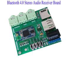 Bluetooth 4.0 Stereo Audio Receiver Board Wireless SD/TF MP3 Player FM Radio