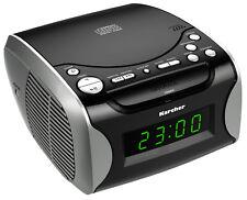 Karcher UR 1306 Stereo Uhrenradio CD Player AUX Eingang Wecker PLL Radio Display