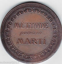 MEDAILLE CONCOURS INTERNATIONALE DE COUPE/SOUS LA MODE PARISIENNE METHODE MARTI