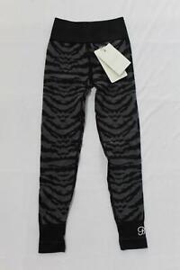 Bombshell Women's Tiger Seamless Leggings SC4 Blue/Black Size XS/Small NWT