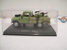 "Land Rover 109 ""Military, green, 1980, Hongwell 1:43 in Vitrine"