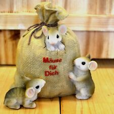 große Spardose Maus Sack für Geldgeschenke ca.15cm hoch Sparschwein Geschenkidee