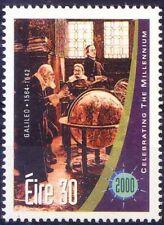 Ireland MNH No Gum, Millennium, Galileo, Father-Modern Physics Astronomy Science