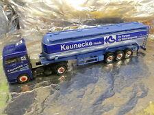 ** Herpa 146692 MAN TGA XL Bulk Semitrailer 60m³ Keunecke 1:87 HO Scale