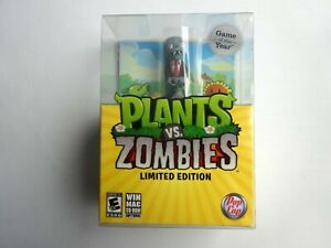 PC Plants vs Zombies Game of the Year Limited Edition (2010) Brand New Sealed
