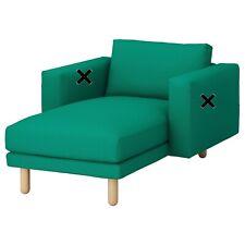 Ikea Norsborg Chaise Longue Cover - Grasbo Bright Green 603.826.52