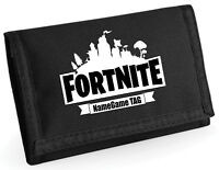 PERSONALISED GAMENITE WALLET, ADD NAME VICTORY DANCE JUST PLAY MONEY SAVER WALET