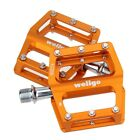 Wellgo KC008 Aluminum Extruted Pedals for Road Bike MTB BMX DH Platform Gold