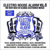 Cd Electro House Alarm VOLUME 8 di vari artisti 2cds
