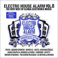 CD Electro House Alarm Volume 8 von Various Artists 2CDs