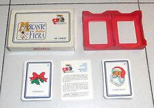Carte MERCANTE IN FIERA Modiano PROMO MOTTA Natale 80 carte
