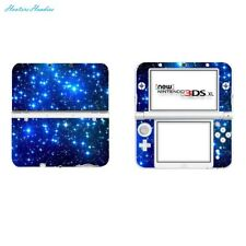 SKINOWN Vinyl Cover Decals Skin Sticker for Nintendo New 3DS XL - Blue Starry Sk