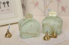 50X Sweet Imperial Cute Crown Wedding Favors Candy Boxes Baby shower Gift Bags
