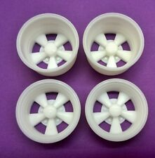 Resin 1/12 Scale Cragar S/S Style Deep & Deeper Wheels