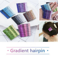 Wholesale Candy Color Hair Clips Bobby Pins Wavy Hairpins Metal Barrettes