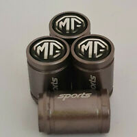 MG SPORTS Valve Dust caps all Cars Gun Metal Grey 7 colours all models MIDGET