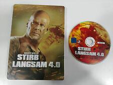DIE HARD 4.0 - DVD STEELBOOK ENGLISH DEUTSCH - GERMAN EDITION BRUCE WILLIS