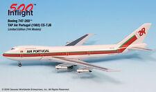 TAP Air Portugal CS-TJB 747-200 Airplane Miniature Model Metal Die-Cast 1:500 Pa