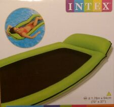 Intex Mesh Grün Relaxe Lounge Schwimmliege Strand Pool Wasserhängematte , (K)