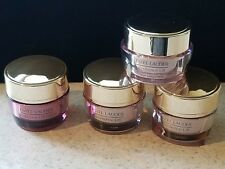 4 Estee Lauder Resilience Lift Firming/Sculpting Face/Neck SPF Creme .5 oz Night