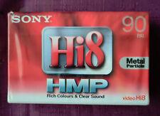 2 x MAXELL di qualità superiore P5-90 a Hi8 /& videocamera digitale 8 video NASTRI//CASSETTE