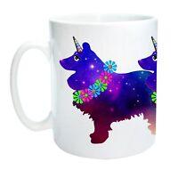 Sheltie Dog Unicorn Mug - Sheltiicorn.  Shetland Sheepdog Mothers Day Gift Mug