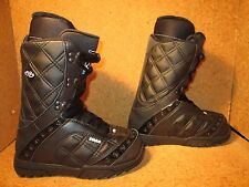 New 2011-12 32 Thirty Two Womens Exus Snowboard Boots Size 7 Black