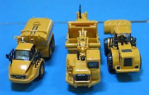 Norscot Caterpillar K500 Water Truck 950C Wheel Loader Tractor 627G Scraper 1/87