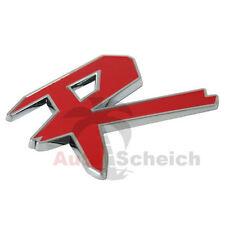 R emblema caratteri CROMO LOGO AUTO ADESIVI COFANO PARAFANGO LOGO 3d