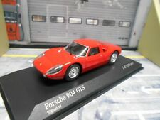 PORSCHE 904 Carrera GTS Coupe rot red Street 1964 Minichamps PMA 1:43