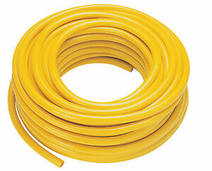 WFP Microbore Minibore Water Fed Pole Hose 6mm id x 11mm od 100mtr YELLOW