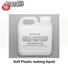 1Ltr SOFT GRADE LIQUID SOFT PLASTIC PLASTISOL FOR MAKING  SOFT BAIT  LURES