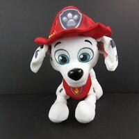 "Paw Patrol Marshall Fire Fighter Dog Plush Stuffed Animal Nickelodeon 11"""