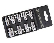 """1/4"""" Drive Socket Set Imperial, 9 Piece Set- 3/16"""" to 1/2"""" AF"""