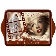 Mini plateau métallique Cannes
