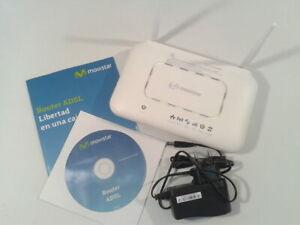ADSL2+ / ADSL / DSL Wifi router Movistar Observa Telecom BHS-RTA B/G/N MIMO USB