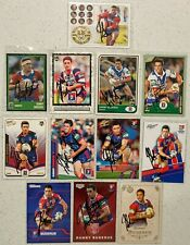 ✺Signed✺ 12 x Danny Buderus (Knights) Lot of NRL Rugby League cards