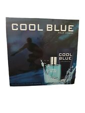 COOL BLUE - POUR HOMME EAU DE TOILETTE & LUXURY SHOWER GEL - GREAT MALE GIFT SET