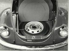 VW Volkswagen Beetle Italian Autorama Press Photograph Mint Condition & Wheel